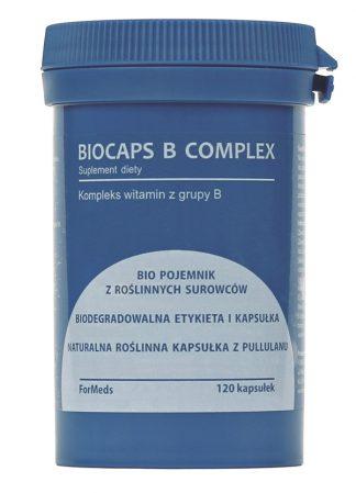Kompleks witamin z grupy B- 100% naturalne kapsułki –ForMeds, 120kapsułek –ForMeds, 120kapsułek