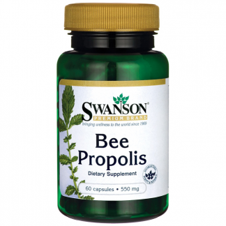 Bee Propolis 550mg –Swanson, 60kapsułek –Swanson, 60kapsułek