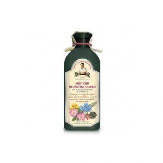 Miękki szampon do włosów farbowanych i zniszczonych –PervoeReshenie, 350ml –PervoeReshenie, 350ml