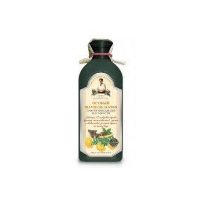 Specjalny szampon ziołowy- przeciw wypadaniu włosów –Agafii, 350ml