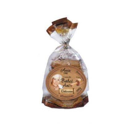 Ciasteczka orkiszowe waniliowe –Bioania, 100g
