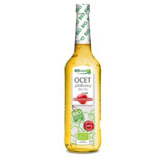 Ocet jabłkowy Bio 5% – BIONATURO, 700ml – BIONATURO, 700ml