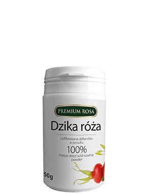 Liofilizowana dzika róża – proszek –PremiumRosa, 50g