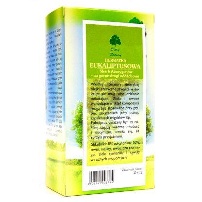 Herbatka Eukaliptusowa Eko –DaryNatury, 25saszetekpo2g