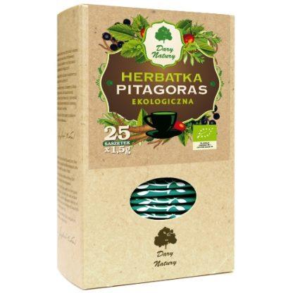 Herbatka Eko Pitagoras –DaryNatury, 25saszetekpo1,5g