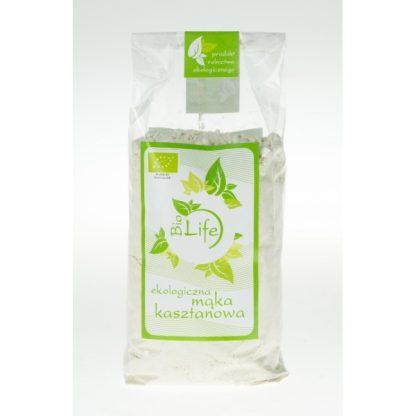 Mąka kasztanowa BIO –BioLife, 250g