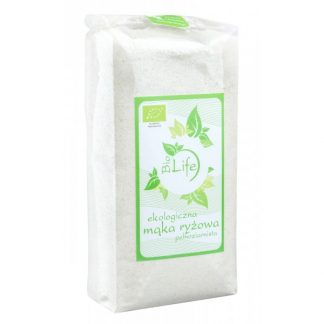 Mąka ryżowa pełnoziarnista BIO –BioLife, 500g –BioLife, 500g