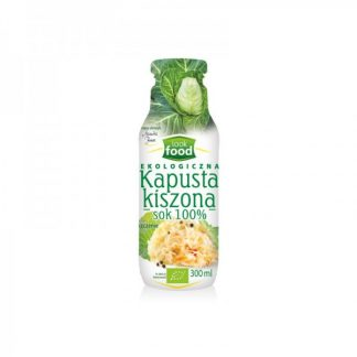 Sok z kapusty kiszonej BIO – Look Food, 300 ml