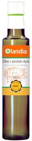 Olej z pestek dyni EKO –Olandia, 250ml