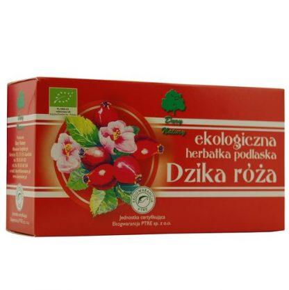 Dzika róża- herbatka ekspresowa –DaryNatury, 20saszetekpo2,5g