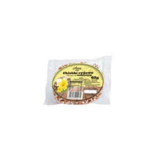 Chlebki ryżowe waniliowe w syropie ryżowym –Bioania, 65g –Bioania, 65g