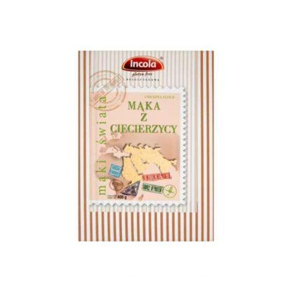 Mąka z ciecierzycy bezglutenowa –Incola, 400g