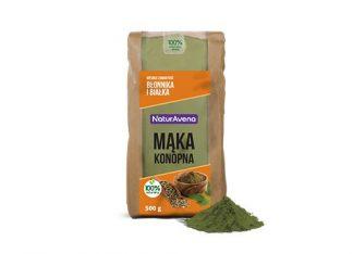 Mąka konopna –NaturAvena, 500g –NaturAvena, 500g