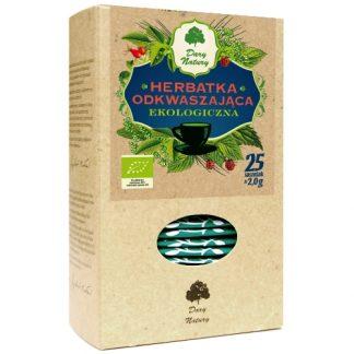 Herbata Odkwaszająca EKO –DaryNatury, 25saszetekpo2g –DaryNatury, 25saszetekpo2g