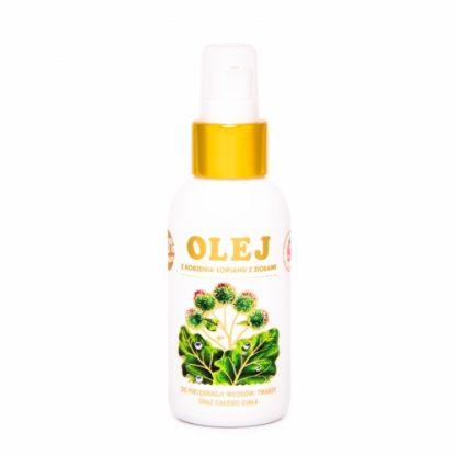 Olej z korzenia łopianu z ziołami –NAMI/Rosja, 100ml