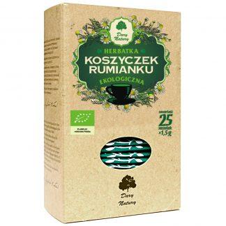 Rumianek- herbatka ekspresowa –DaryNatury, 25saszetekpo1,5g