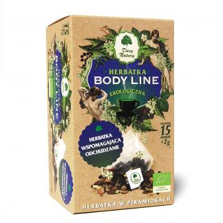 Herbatka Body Line EKO –DaryNatury, 15saszetekpo2g –DaryNatury, 15saszetekpo2g