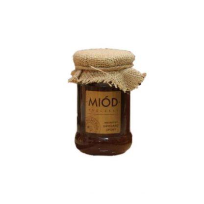 Miód gryczano-lipowy –PasiekaŁysoń, 400ml