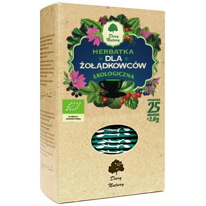 Herbatka ekspresowa dla żołądkowców –DaryNatury, 25saszetekpo2g