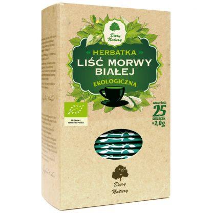 Herbatka morwa biała liść –DaryNatury, 25saszetekpo2g