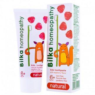 Pasta do zębów dla dzieci bez fluoru 6+ –BILKALIFESTYLE, 50ml