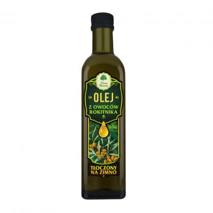 Olej z Owoców Rokitnika – tłoczony na zimno –DaryNatury, 100ml