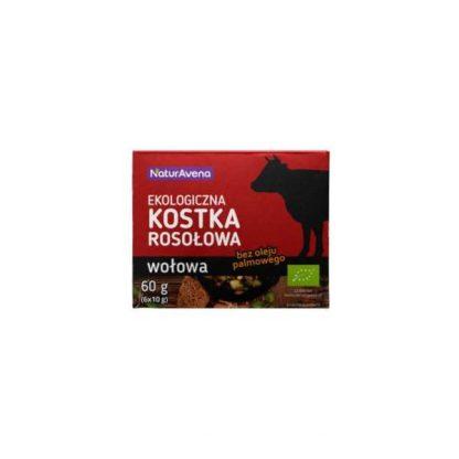 Kostka rosołowa wołowa BIO –NaturAvena, 60g