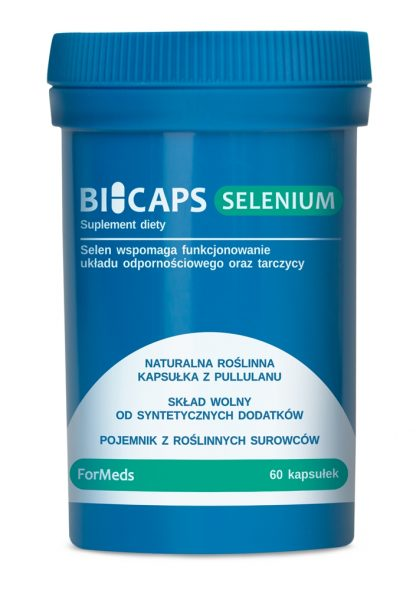 Selen- 100% naturalne kapsułki –ForMeds, 60kapsułek