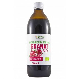 Ekologiczny sok z Granatu BIO –MyVita, 500ml