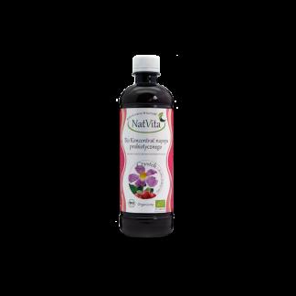 Koncentrat BIO napoju probiotycznego Czystek i Dzika Róża –Natvita, 500ml