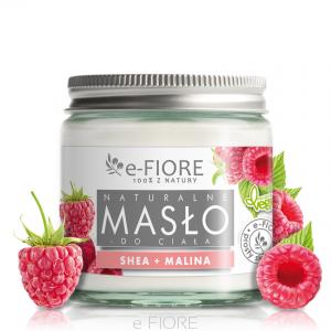 Masło do ciała 100% Naturalne Shea Butter MALINOWE –Fiore, 120ml –Fiore, 120ml
