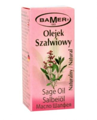 Szałwiowy 100% naturalny olejek eteryczny –Bamer, 7ml –Bamer, 7ml