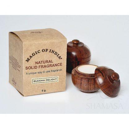 BUDDA DELIGHT naturalne perfumy w kremie –Shamasa, 6g