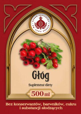 Głóg sok –ProduktyBonifraterskie, 500ml –ProduktyBonifraterskie, 500ml