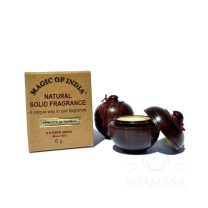 PRECIOUS SANDAL naturalne perfumy w kremie –Shamasa, 6g