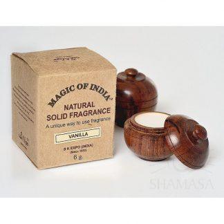 Vanilla naturalne perfumy w kremie –Shamasa, 6g