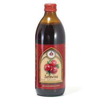 Żurawina sok –ProduktyBonifraterskie, 500ml –ProduktyBonifraterskie, 500ml