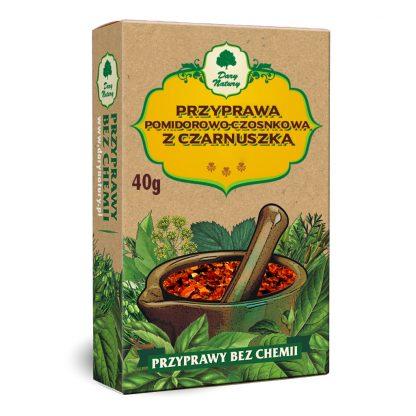 Przyprawa pomidorowo czosnkowa z czarnuszką –DaryNatury, 40g