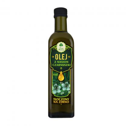 Olej z czarnuszki nierafinowany –DaryNatury, 100ml