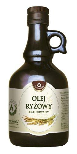 Olej ryżowy rafinowany do smażenia –Oleofarm, 250ml –Oleofarm, 250ml