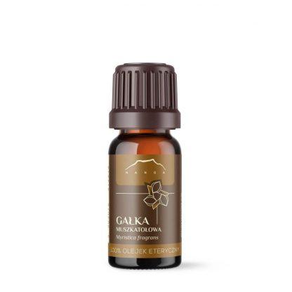 Olejek muszkatołowy 100% eteryczny (Myristica fragrans), 10ml